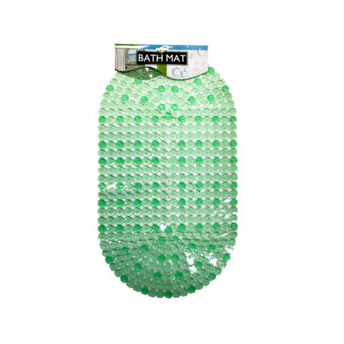 Anti-Slip Bath Mat with Suction Cups ( Case of 12 )