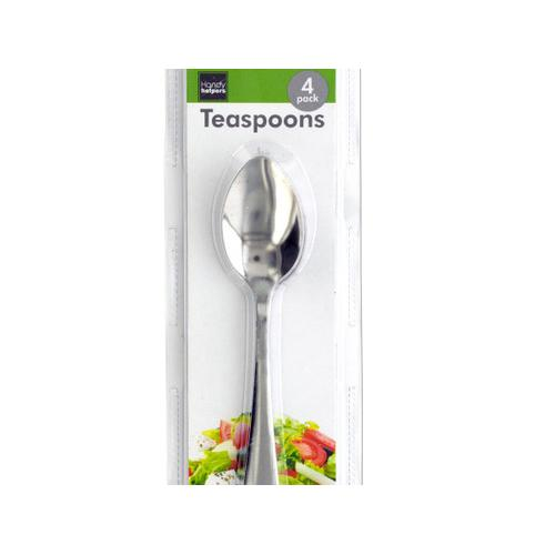 Metal Teaspoons Set ( Case of 10 )