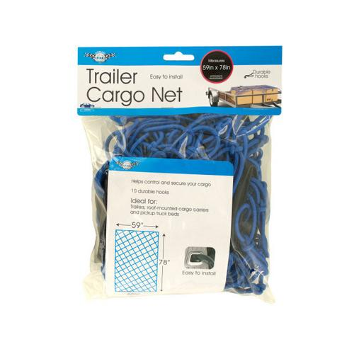 Trailer Cargo Net with Hooks ( Case of 2 )