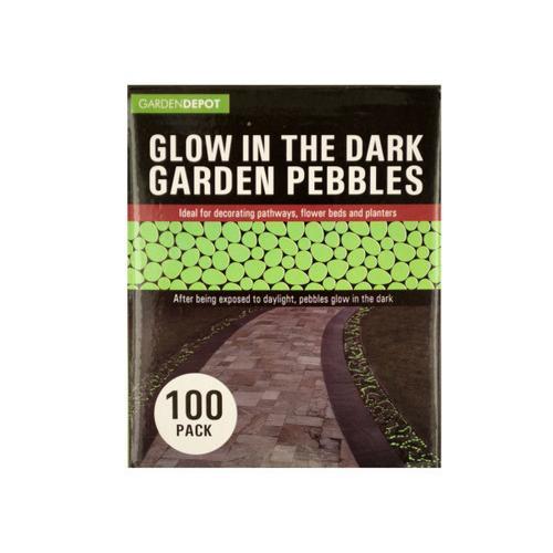 Glow in the Dark Garden Pebbles ( Case of 3 )