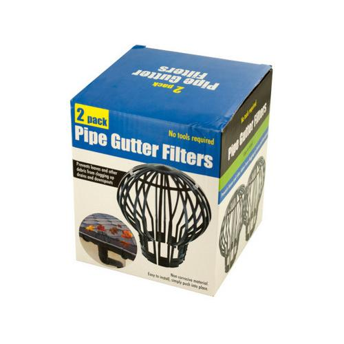 Pipe Gutter Filters Set ( Case of 12 )