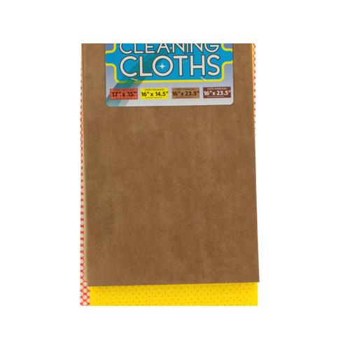 Multi Purpose Cleaning Cloth Set ( Case of 4 )