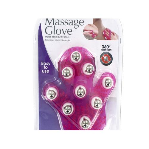 Massage Glove with Rotating Steel Balls ( Case of 12 )