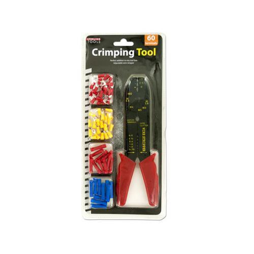 Crimping Tool & Terminals Set ( Case of 8 )