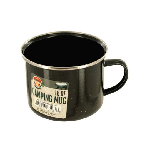 16 oz Enamel Camping Mug ( Case of 12 )