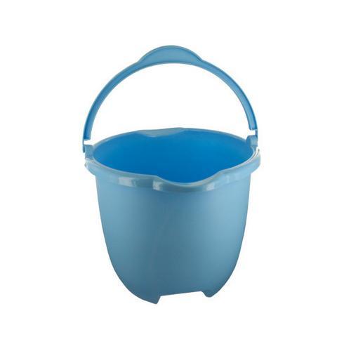 Plastic Bucket with Handle & Pour Spouts ( Case of 8 )