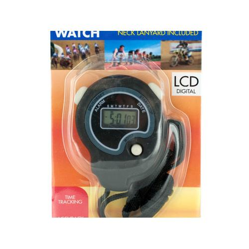 Sport Stopwatch with Neck Cord ( Case of 5 )