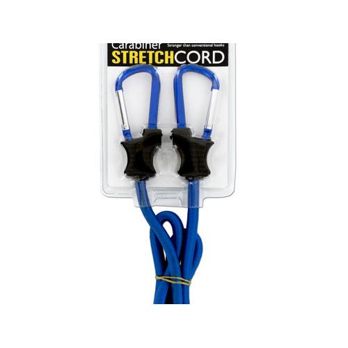 Carabiner Stretch Cord ( Case of 8 )