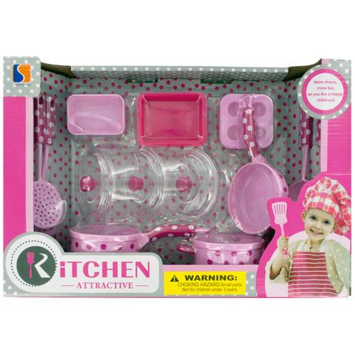 Kids Kitchen Play Set ( Case of 6 )