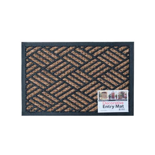 Decorative Weather-Resistant Entry Mat ( Case of 18 )