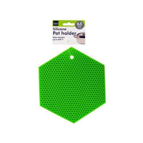 Hexagonal Silicone Pot Holder ( Case of 24 )