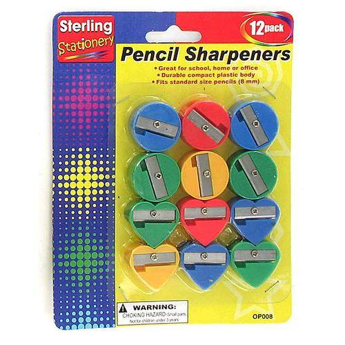 Fun Shape Pencil Sharpeners ( Case of 96 )