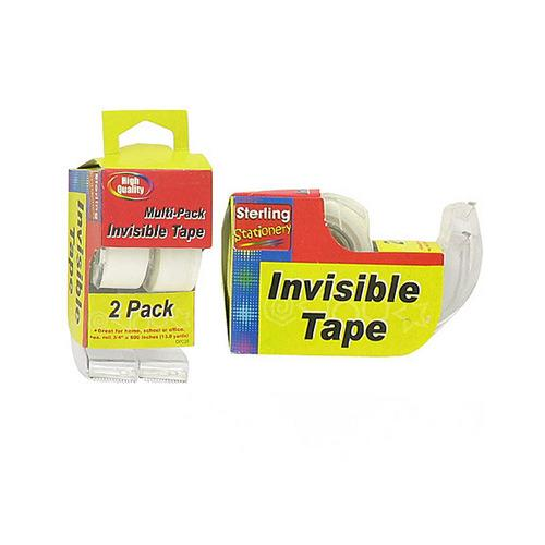 Invisible Tape with Dispensers ( Case of 48 )
