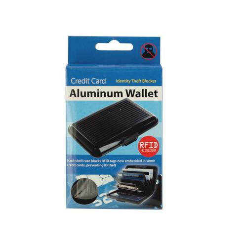 Aluminum Credit Card Wallet ( Case of 12 )