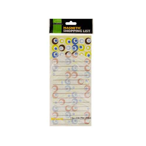 Printed Magnetic Shopping List Pad ( Case of 72 )