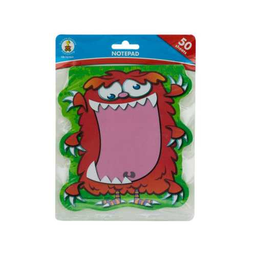 Monster Notepad ( Case of 72 )