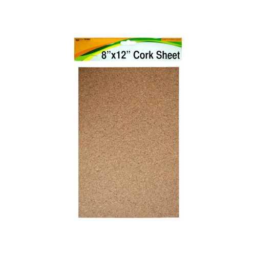 """Cork Sheet 8"""" x 12"""" ( Case of 24 )"""