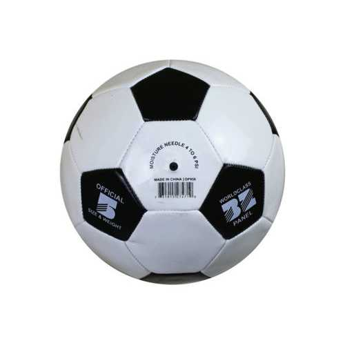 Size 5 Black & White Soccer Ball ( Case of 12 )