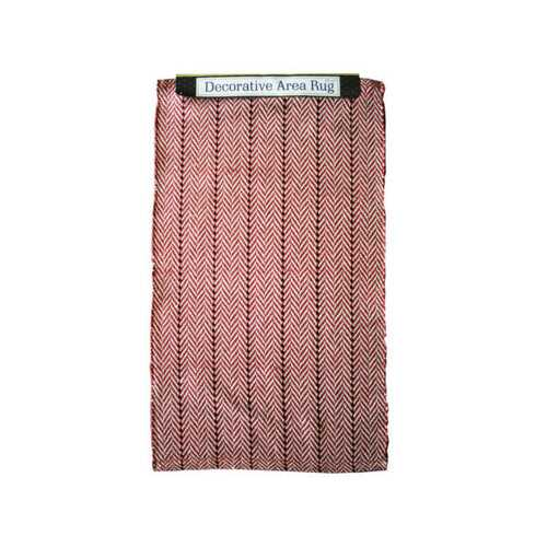 """20"""" x 32"""" Colored Striped Rug ( Case of 5 )"""