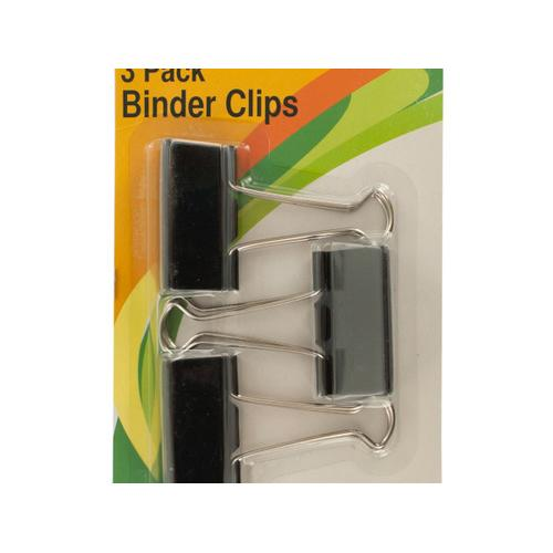 Large Binder Clips ( Case of 72 )