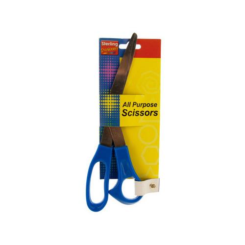 Blue All Purpose Scissors ( Case of 48 )