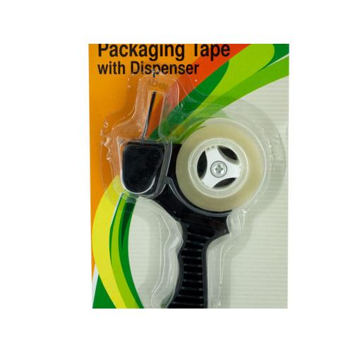 Packaging Tape with Refillable Dispenser ( Case of 24 )