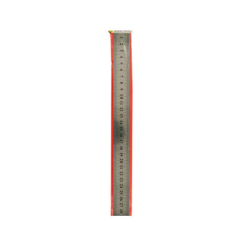 Standard & Metric Steel Ruler ( Case of 24 )