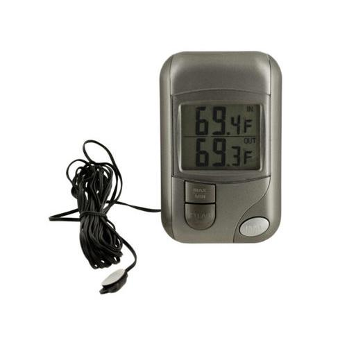 Indoor Outdoor Thermometer with Stand ( Case of 24 )