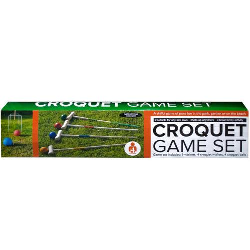 Wooden Croquet Game Set ( Case of 1 )