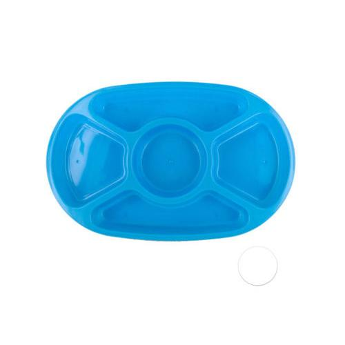 5 Section Appetizer Platter with Lid ( Case of 24 )