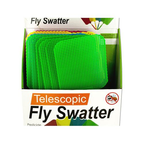 Giant Telescopic Fly Swatter Display ( Case of 12 )