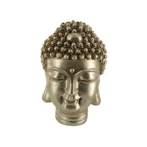 Gold Buddha Head Statue ( Case of 12 )
