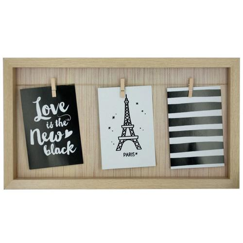 Beige Clothesline Photo Frame ( Case of 4 )