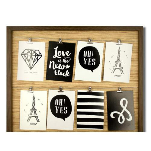 Brown Wire Lines Photo Frame ( Case of 2 )