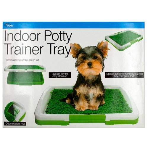 Indoor Potty Trainer Tray ( Case of 2 )