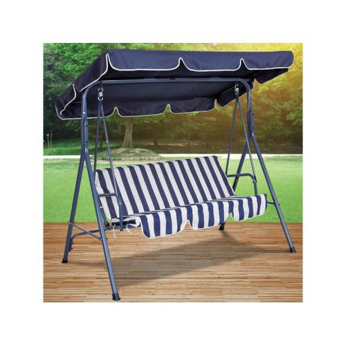 Blue Striped Canopy Swing Chair ( Case of 2 )