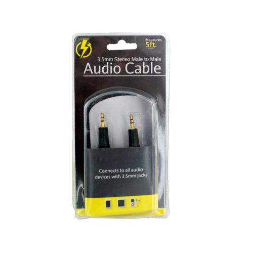 Stereo Male to Male Audio Cable ( Case of 10 )