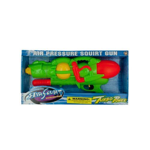 Air Squirt Turbo Power Water Gun ( Case of 3 )