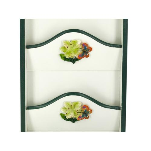 Butterfly Key Cabinet with Letter Holder ( Case of 8 )