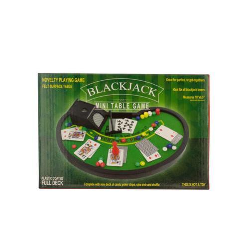 Blackjack Mini Table Game ( Case of 4 )