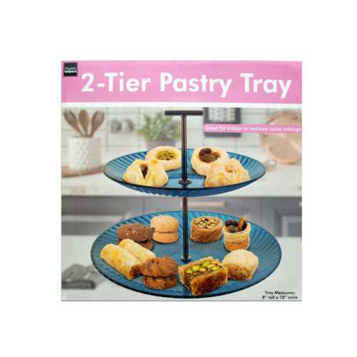 2-Tier Pastry Tray ( Case of 12 )