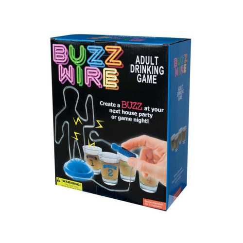 Buzz Wire Adult Drinking Game ( Case of 4 )