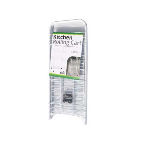 Small 3-Tier Rolling Kitchen Cart ( Case of 4 )