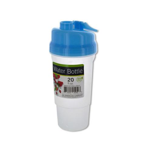 20 oz Sports Water Bottle with Fruit Infuser ( Case of 12 )