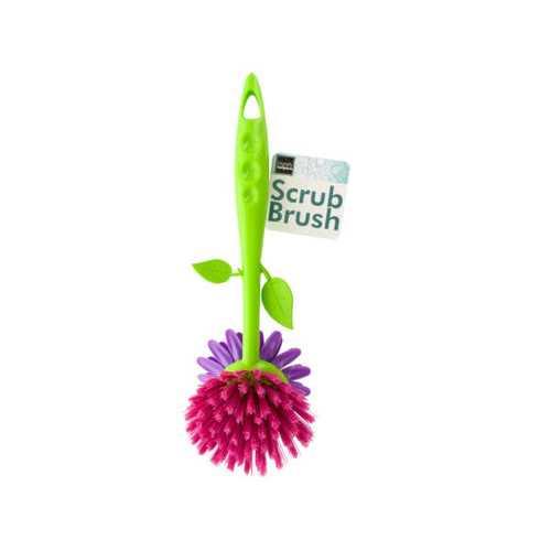 Flower Shape Dish Scrub Brush ( Case of 36 )