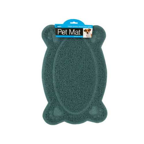 Easy Clean Paw Print Pet Mat ( Case of 10 )