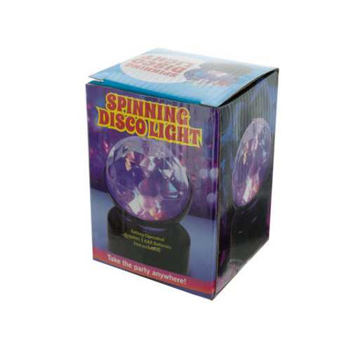 Spinning Disco Party Light ( Case of 8 )