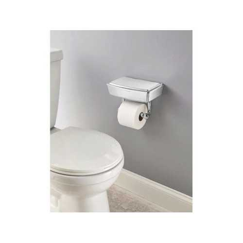 Delta Porter Chrome Toilet Paper Holder with Storage Box ( Case of 2 )