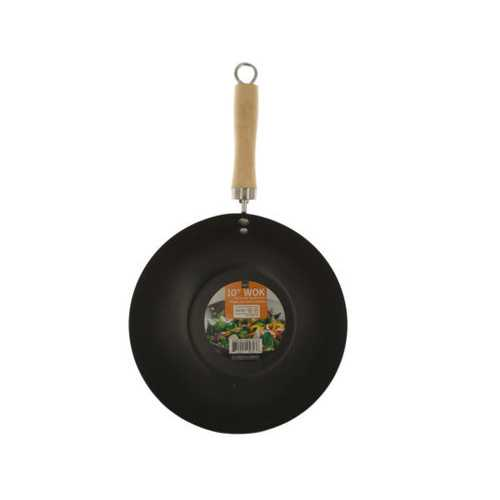 All Purpose Wok with Wood Handle ( Case of 4 )