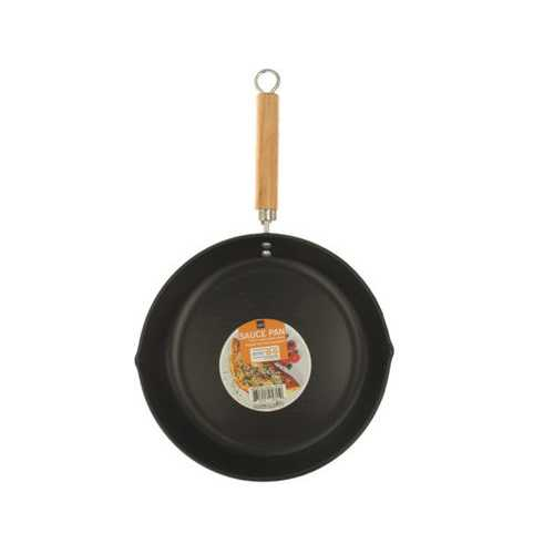 All Purpose Frying Pan with Wood Handle ( Case of 4 )